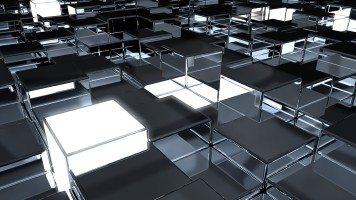 cubes-surface-metal-reflection-hd-wallpaper