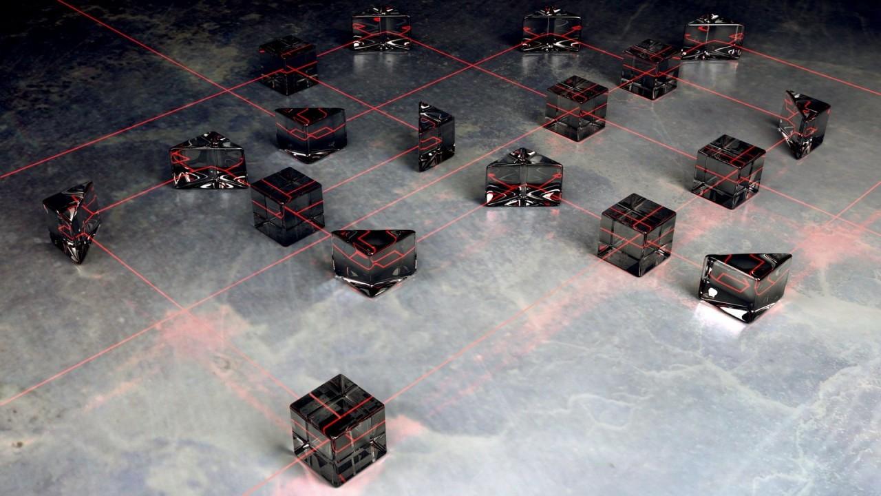 hd wallpaper 3d cube