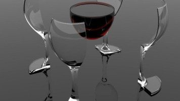 red-wine-floating-in-air