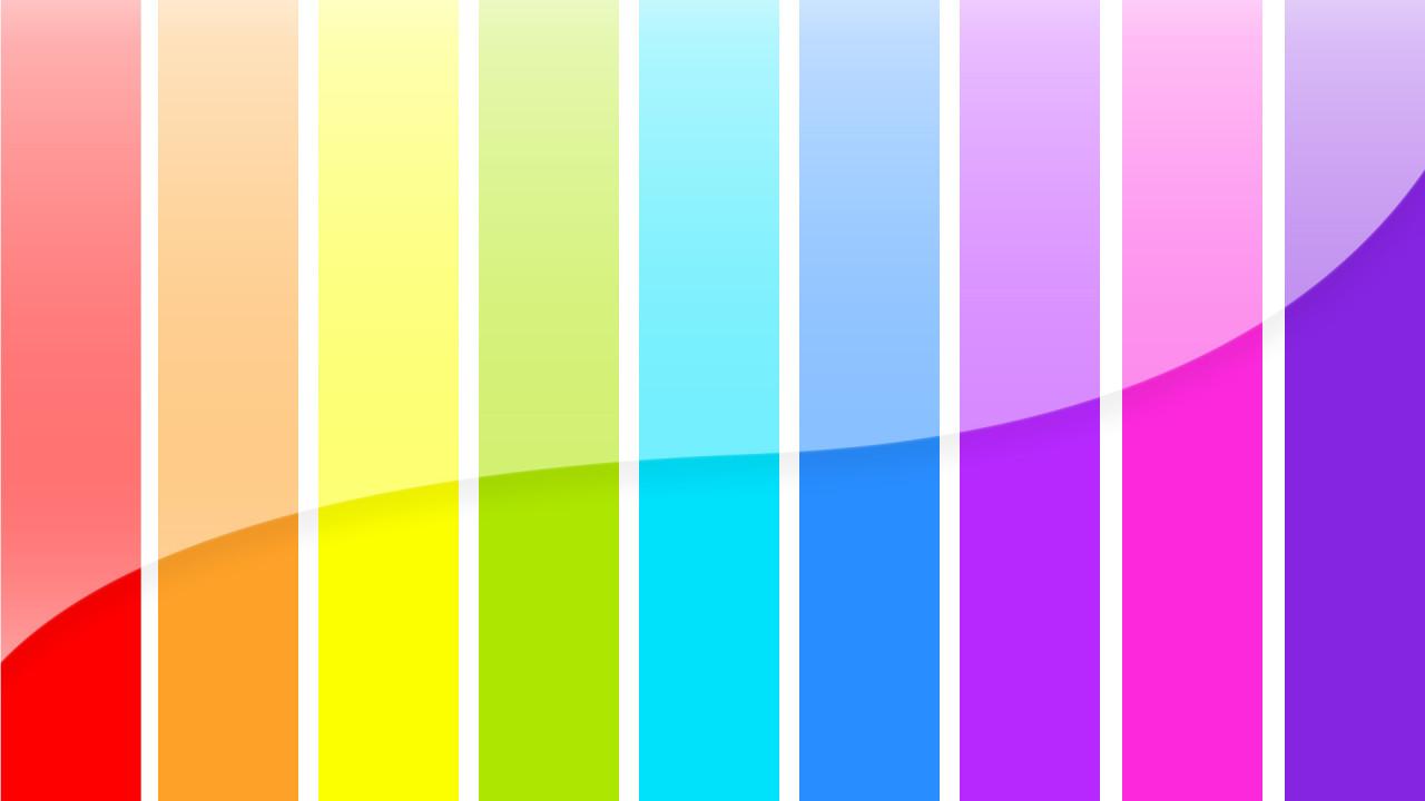 rainbow bars