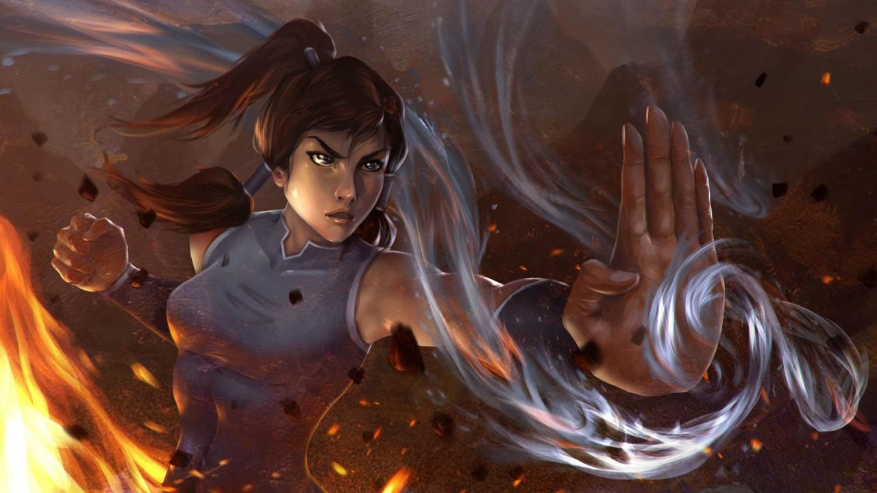 Kora wind and fire powers