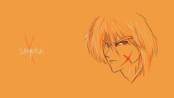 Orange-Samurai-X