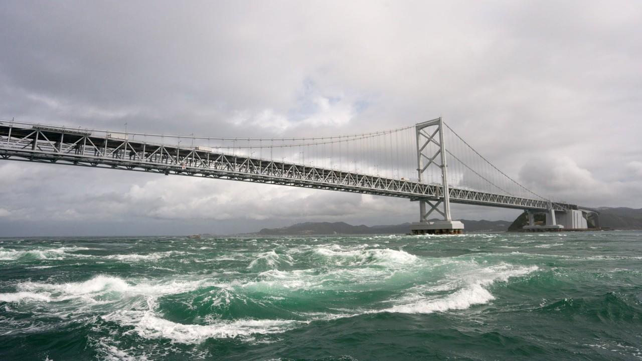 architecture bridge hd wallpaper