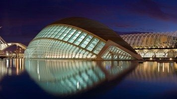 hd-wallpaper-valencia-spain-building-reflection