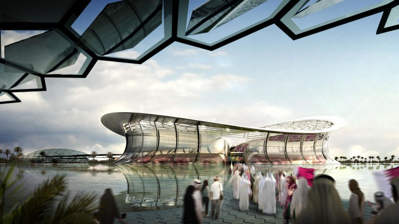 stadium in doha hd wallpaper
