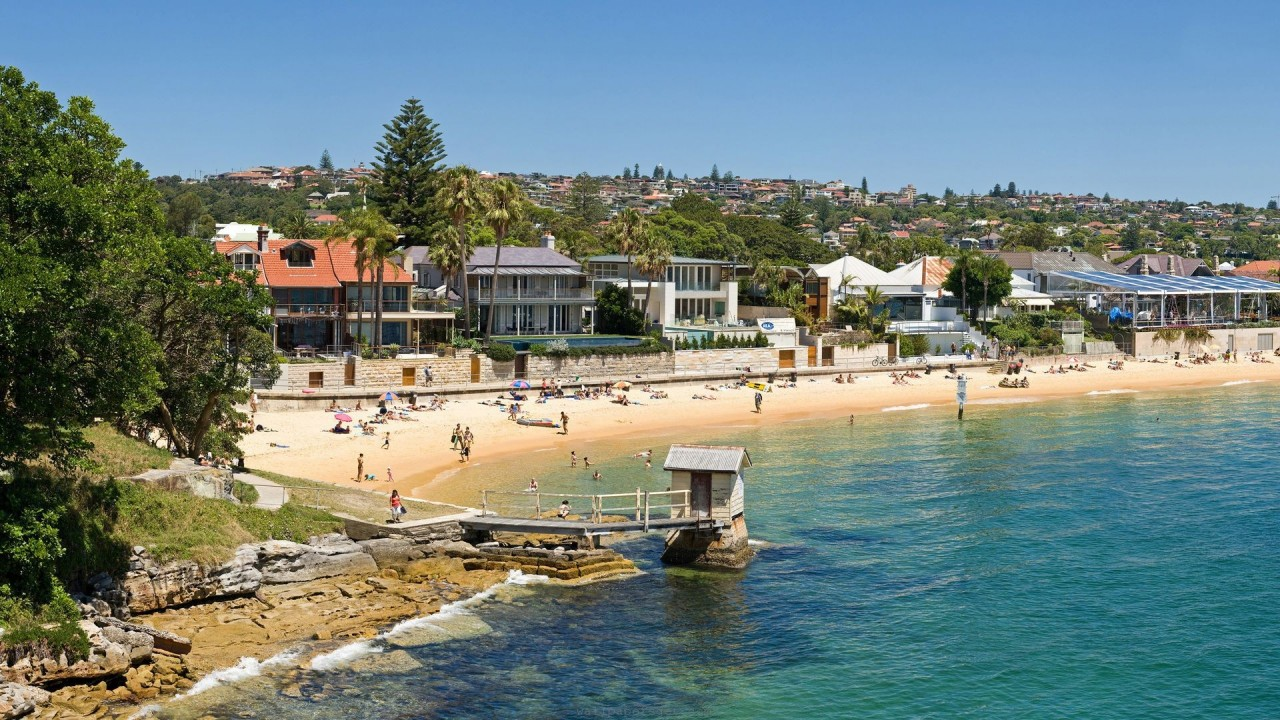 camp cove beach sydney hd wallpaper