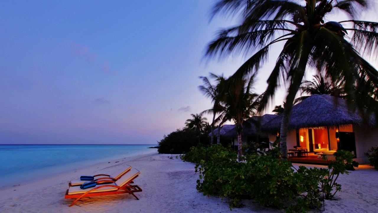 hd wallpaper beach resort