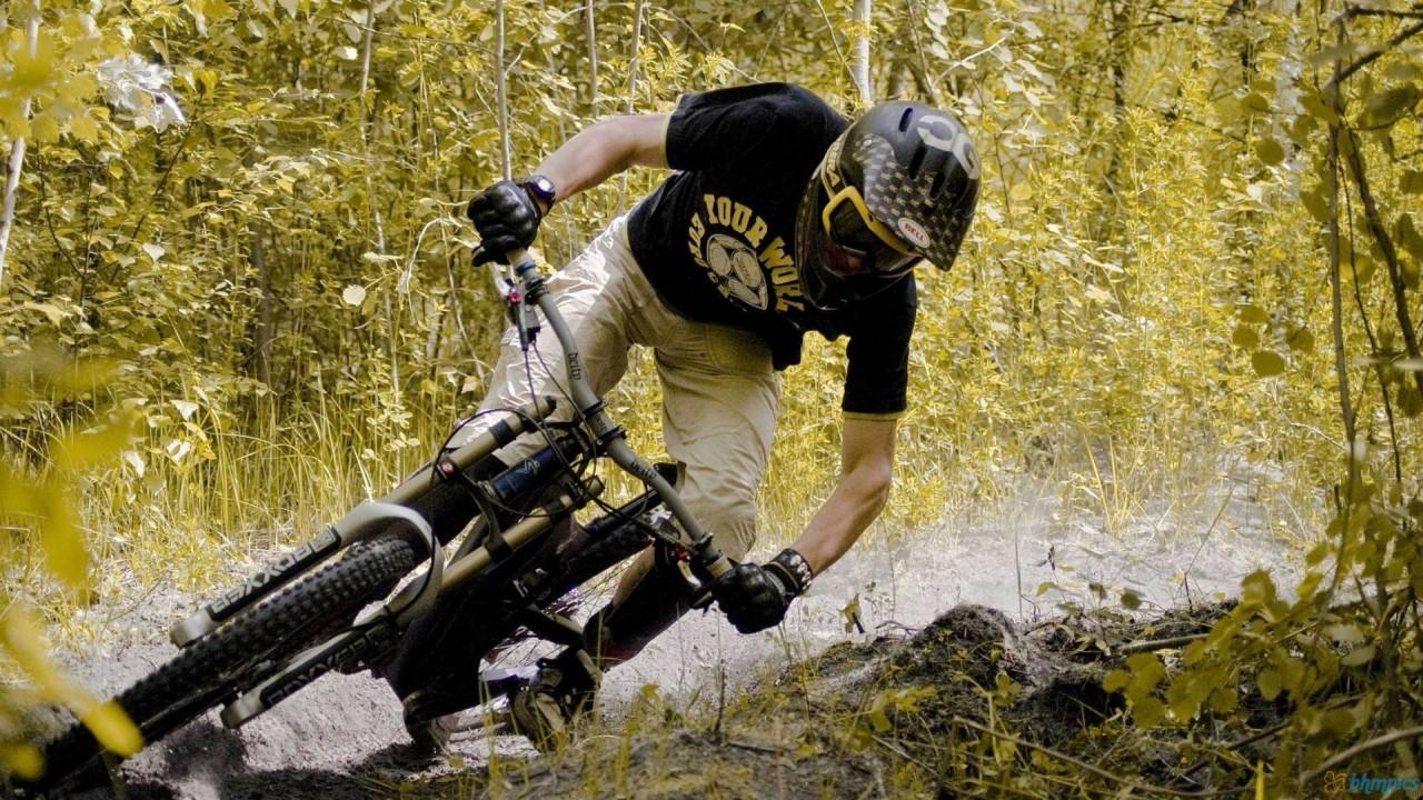 bike trek montain hd wallpaper