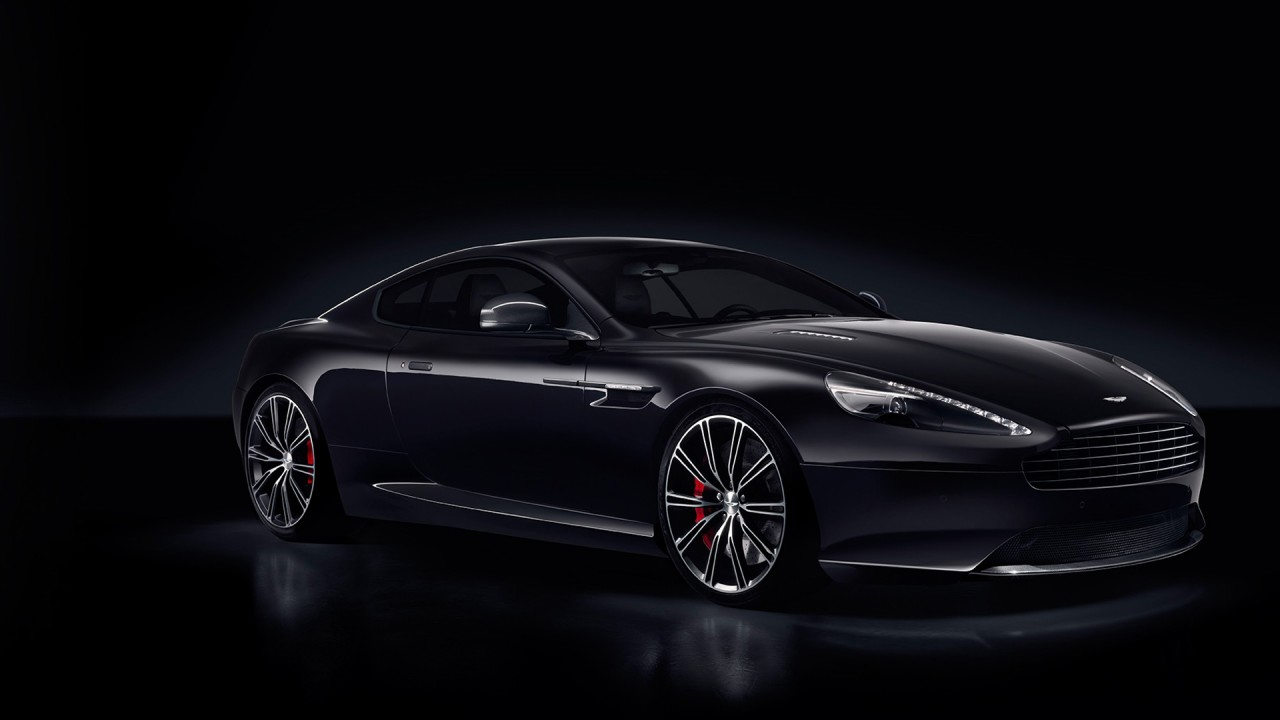 aston martin db9 carbon black wide