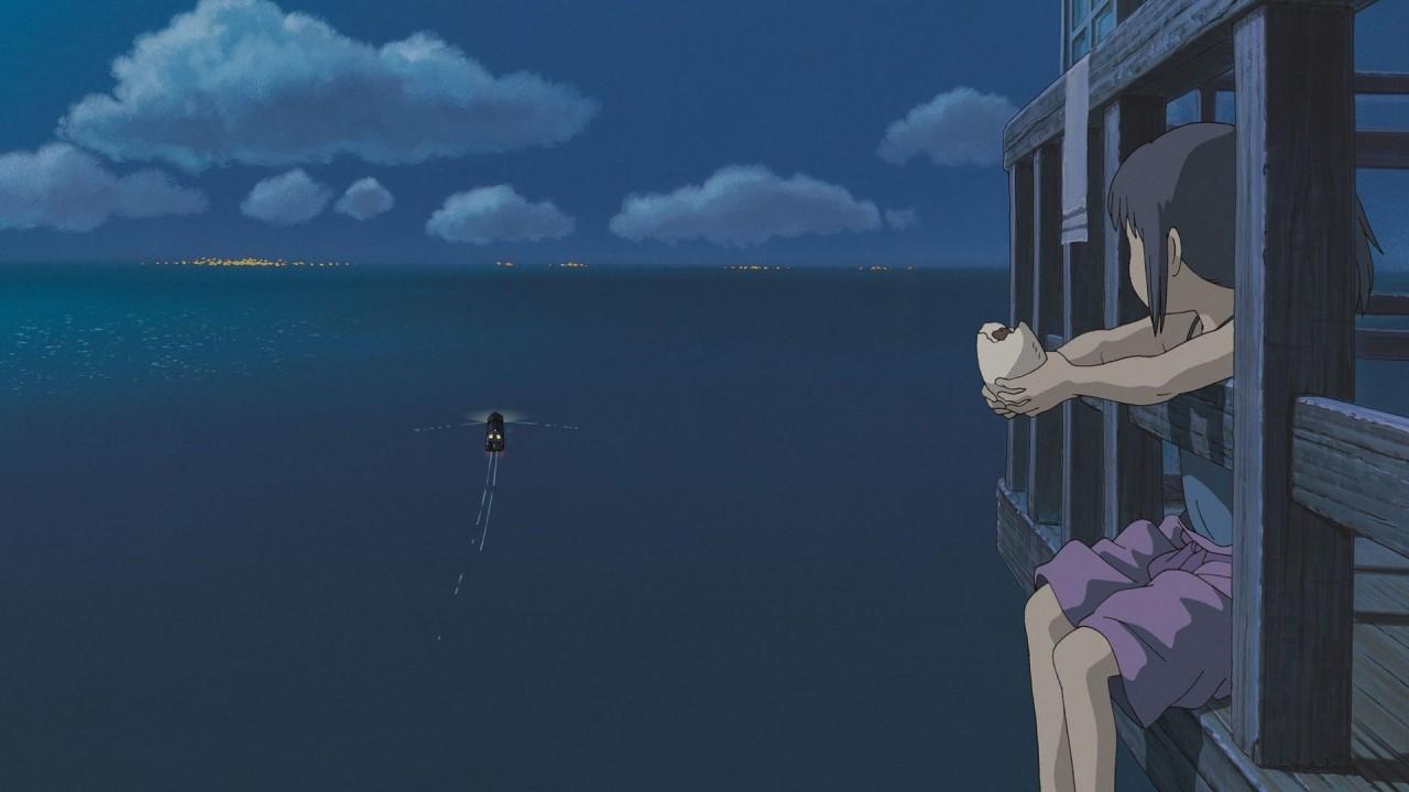 Ship going away