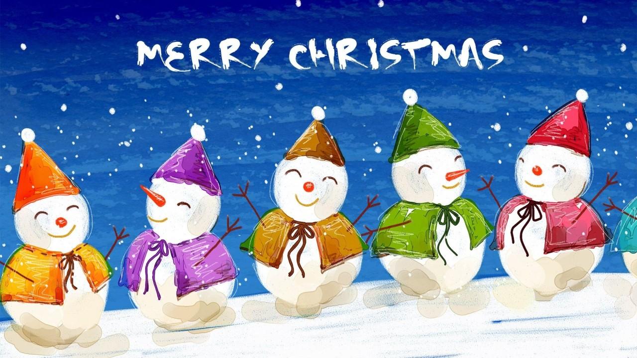 christmas merry hd wallpaper
