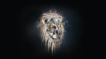 hd-wallpaper-creative-lion