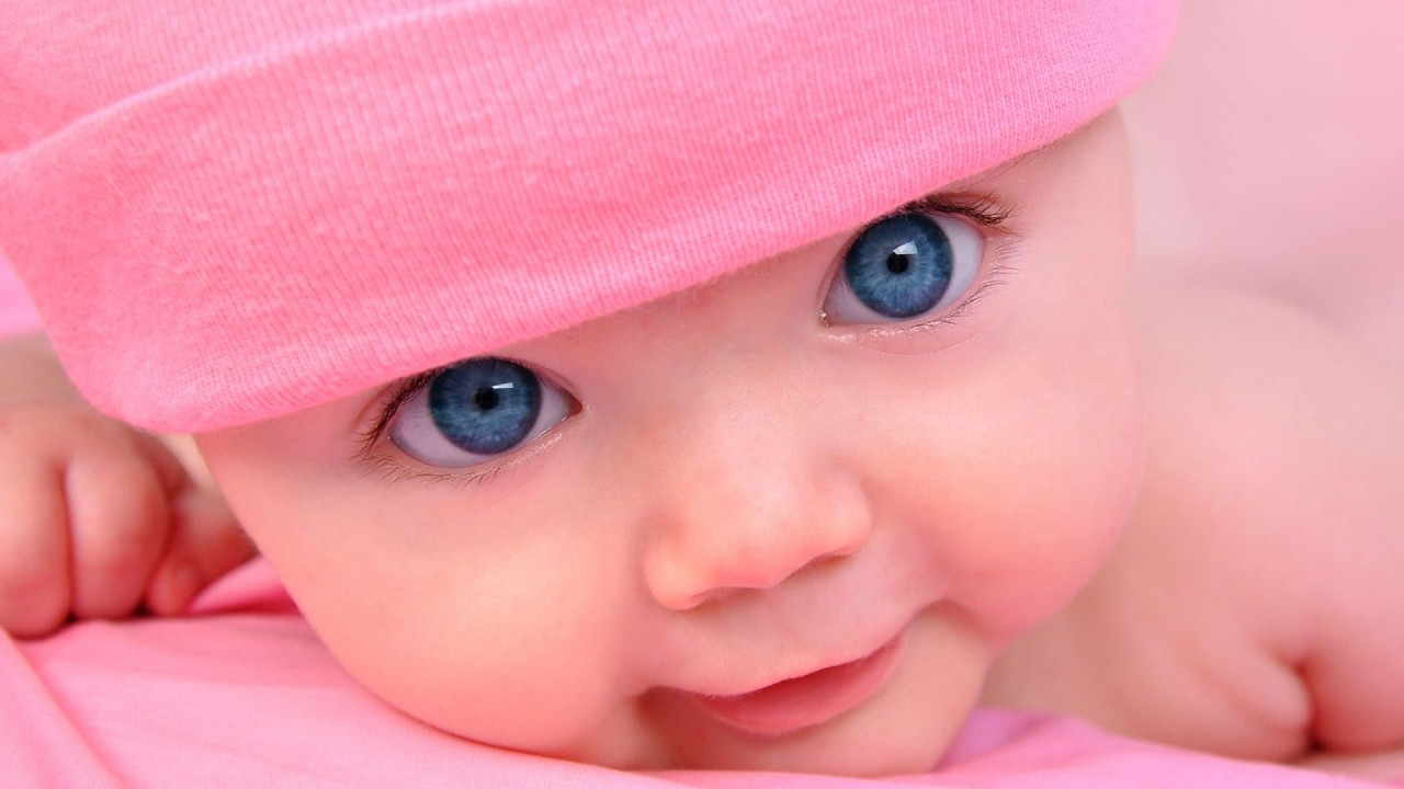 cute baby blue eyes hd wallpaper