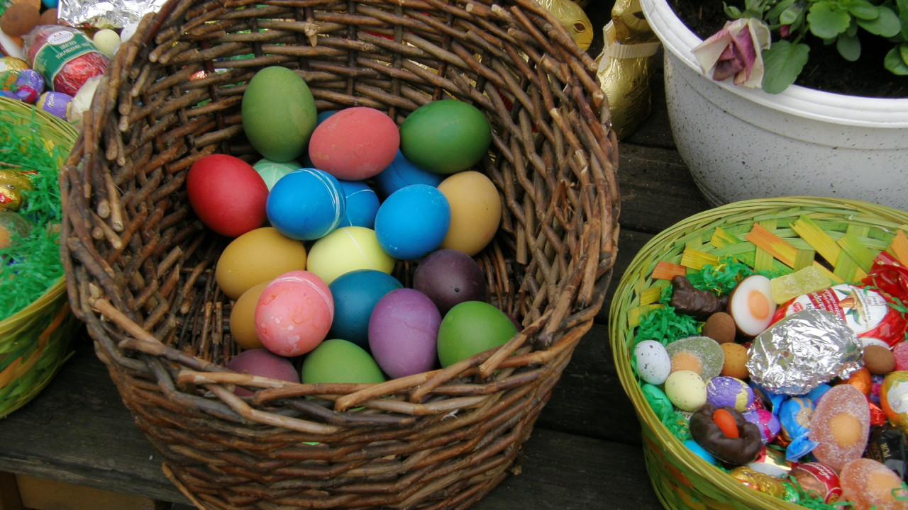 eggs easter happy hd wallpaper