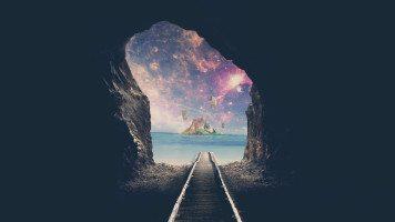 Railroad-cave