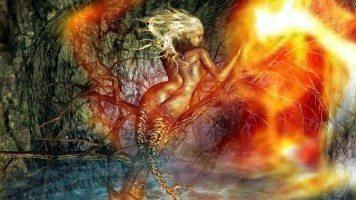 burning-mermaid-hd-wallpaper