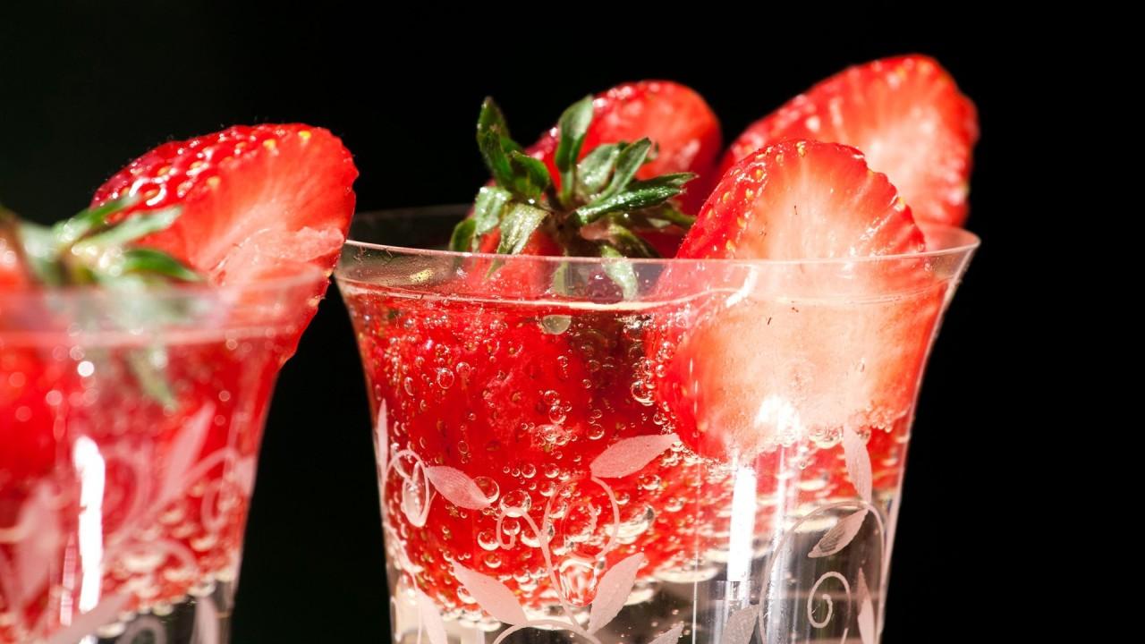 hd wallpaper glass fruits food
