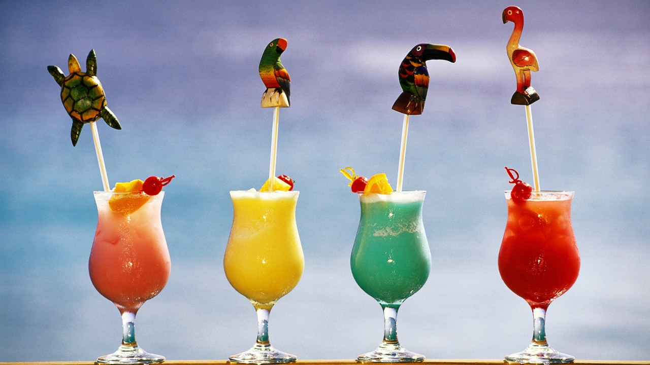 hd wallpaper Tropical Drinks