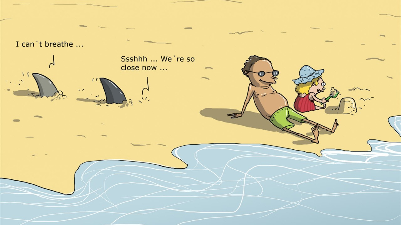 funny cartoon hd wallpaper