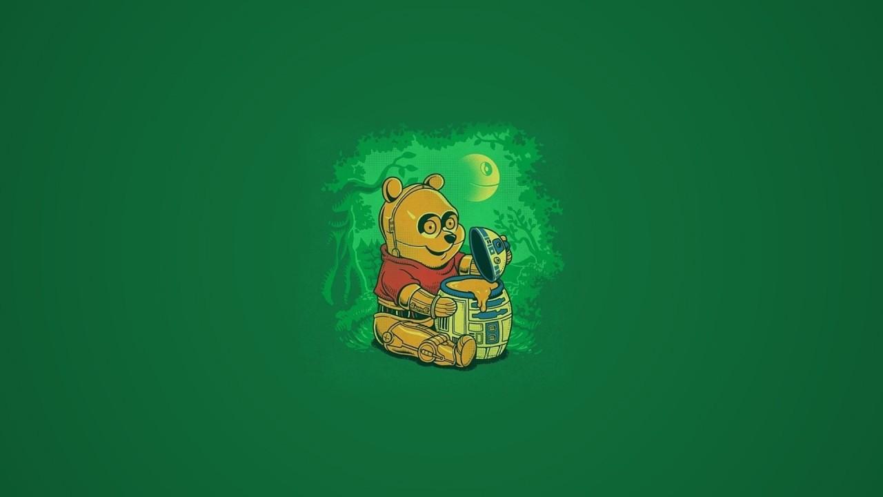 Star Wars honey pot