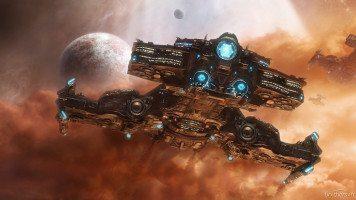Space-battle-ship