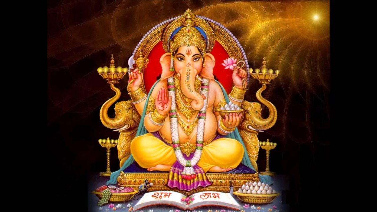 gods jai ganesha hd wallpaper