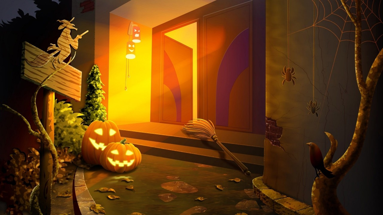 hd wallpaper hd halloween