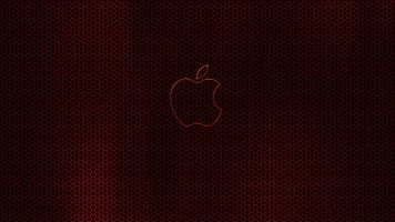 apple-dark-red-glow-wide