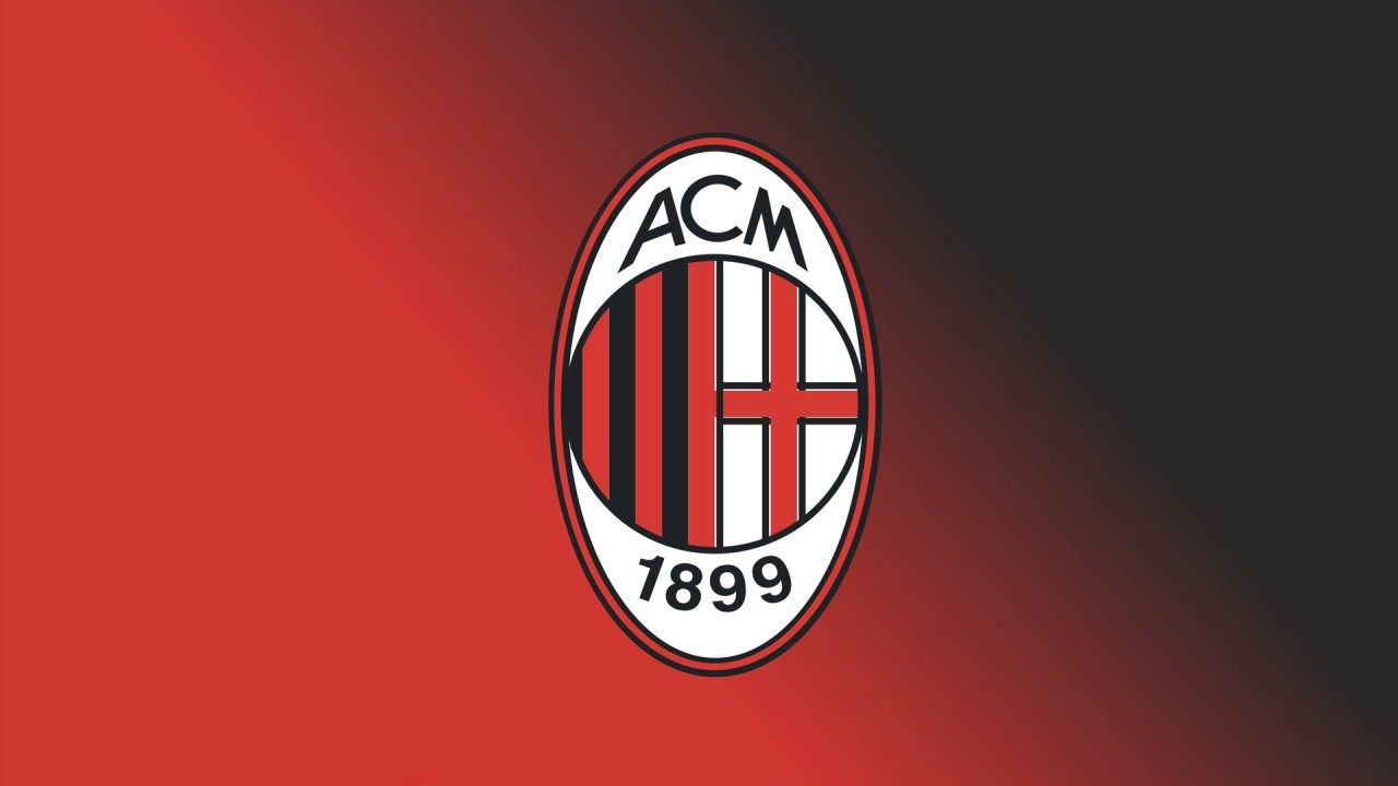 hd wallpaper AC Milan FC Football Logo