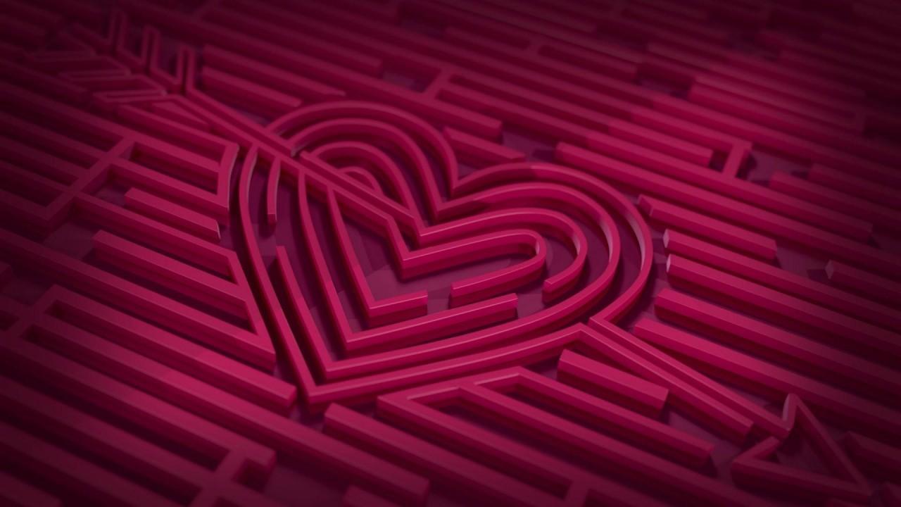 cool love heart hd wallpaper