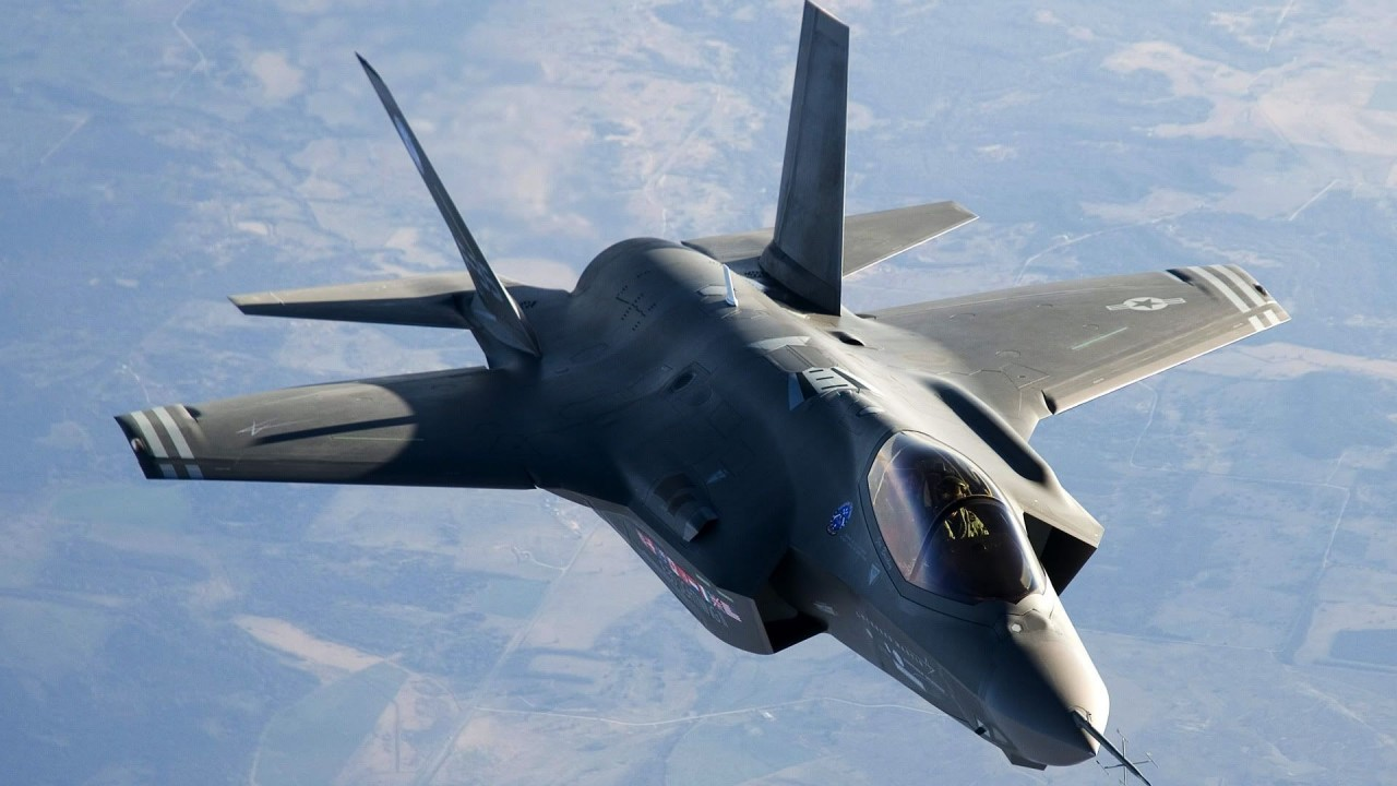 F 35 Fighter Jet Hd Wallpaper