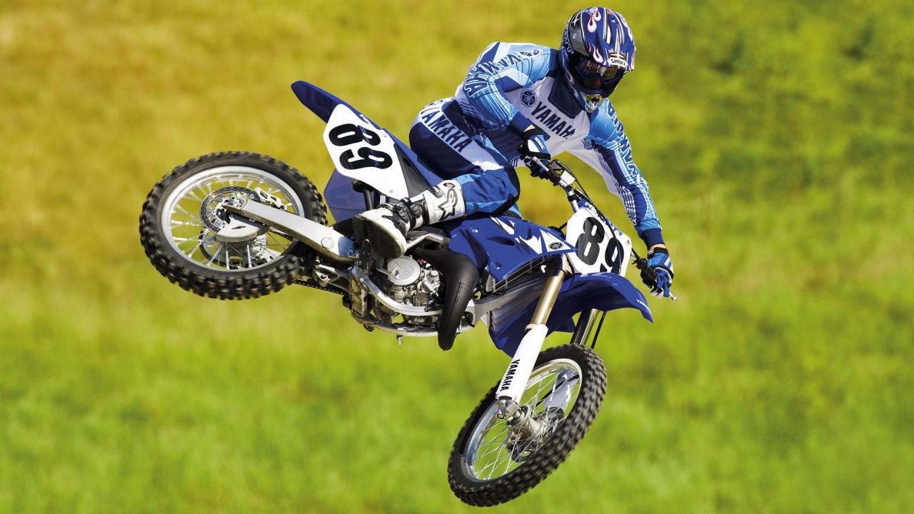 hd wallpaper Yamaha Motocross Bike