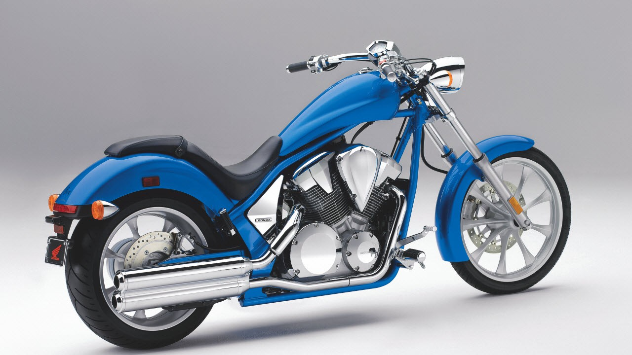 the 2010 honda fury chopper normal