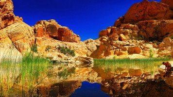 blue-sky-and-reddish-rocks