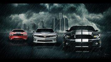 Supercars-in-the-rain