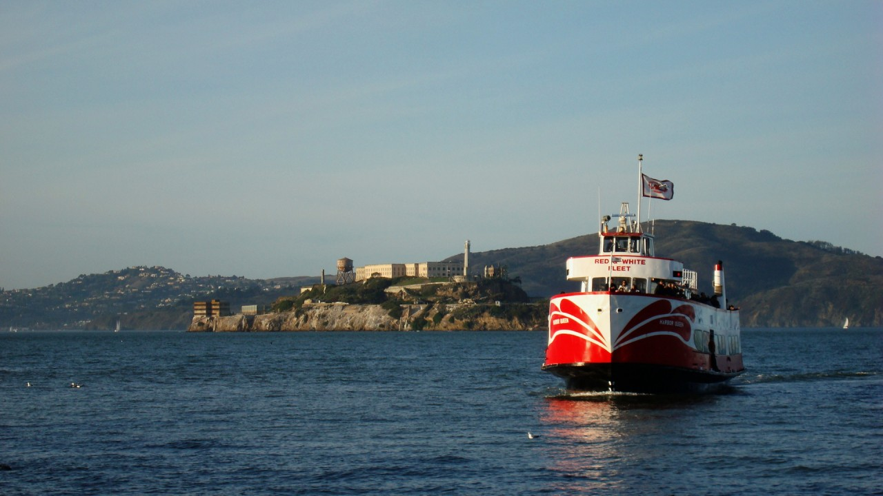 alcatraz island hd wallpaper