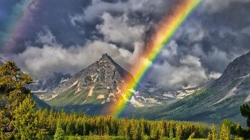rainbow-on-the-mountains