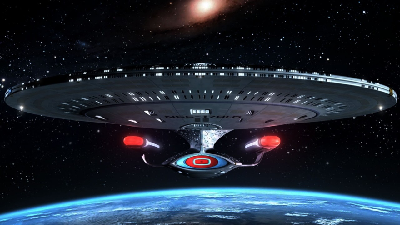 hd wallpaper star trekenterprise ship
