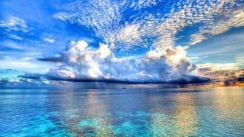 Clouds-over-the-sea