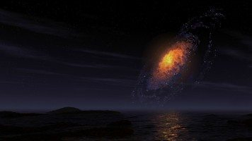 Explosion-of-a-star-in-galaxy