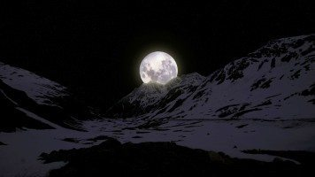 Moon-leaning-on-mountaintops
