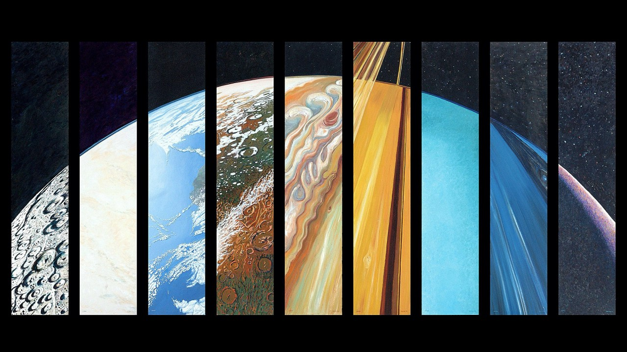 Solar sistem planets