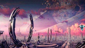 hd-wallpaper-starship-space-city-purple