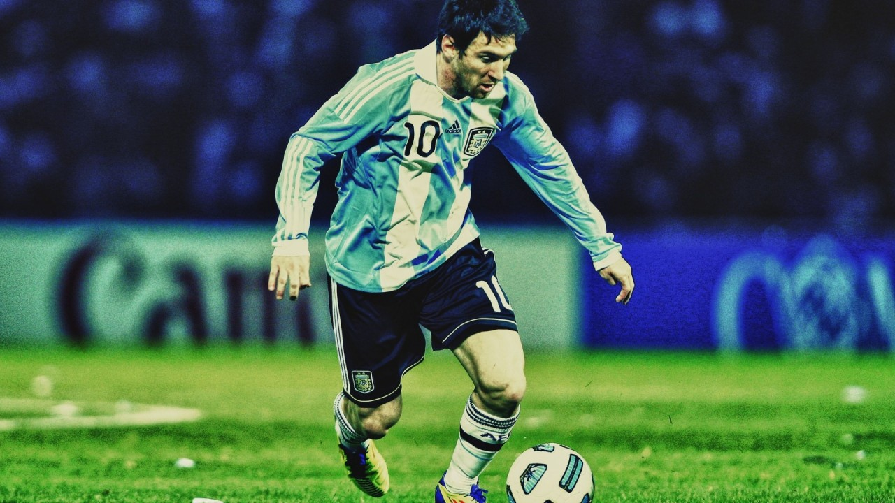 lionel messo argentina team hd wallpaper