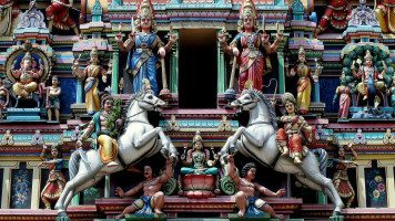 Indian-statues
