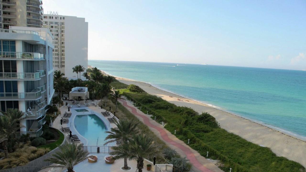 miami beach hotel hd wallpaper