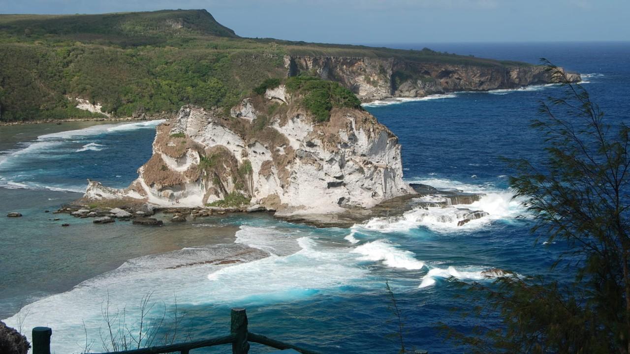 oceanfront cliff