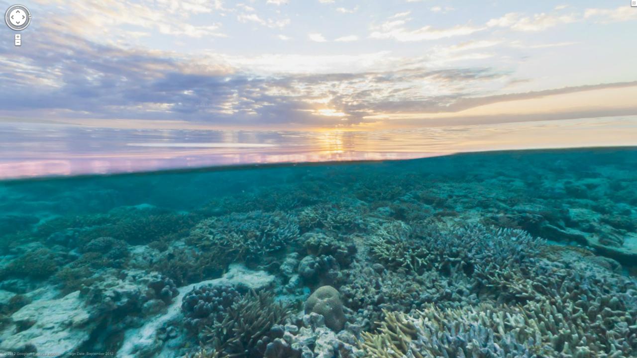 hd wallpaper underwater sunse