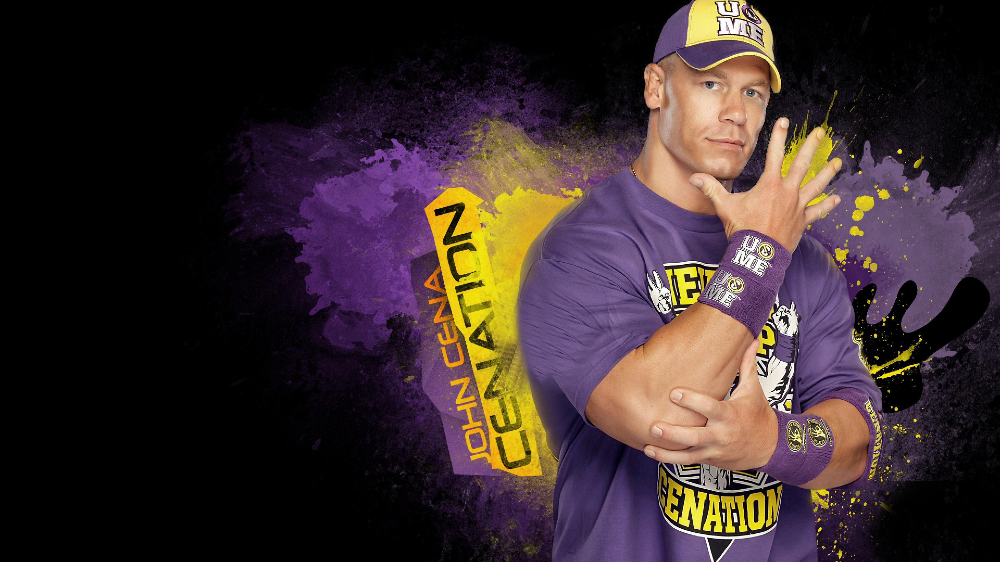 The Rock Vs John Cena Hd Wallpaper Wallpapers Trend
