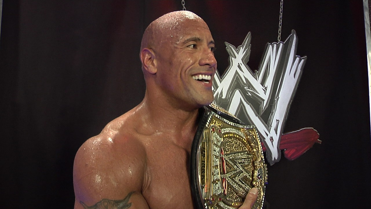the rock wwe hd wallpaper